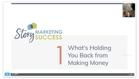 Jumpstart Your Marketing Video 1: What's Holidng You Back From Maning Money.